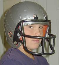 Prom dress duct tape helmet